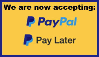 PayPal payments. Mendocino Lawn care